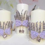 свечи семейный очаг на свадьбу