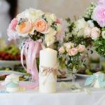 оформление свадьбы, букет невесты