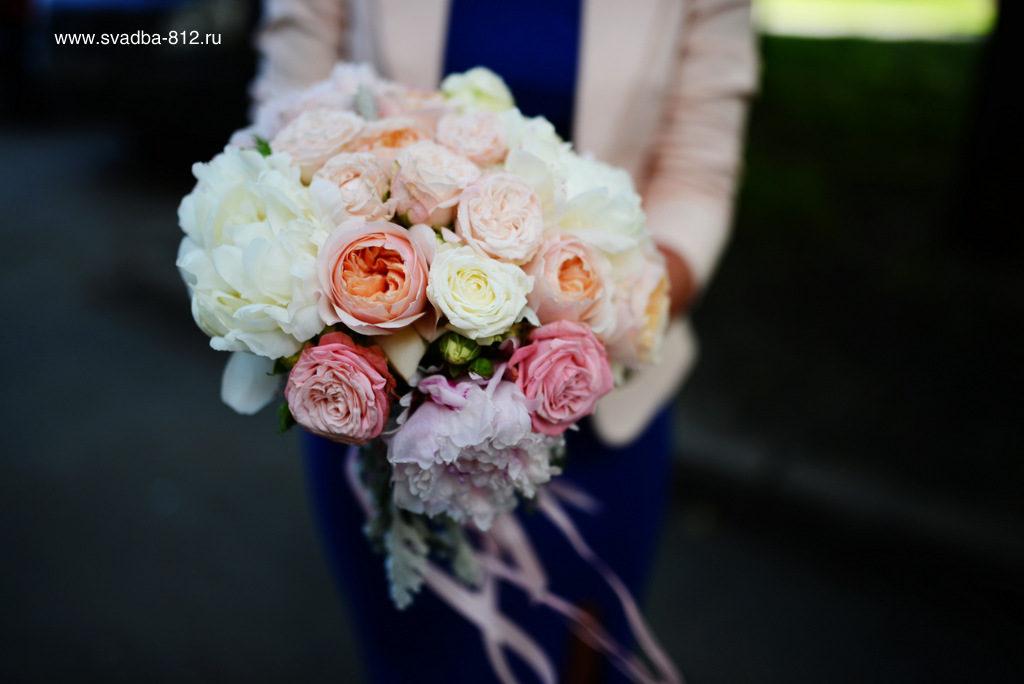 букет невесты спб
